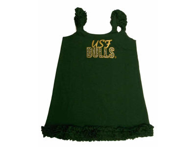South Florida Bulls NCAA Toddler A-Line Ruffle Dress