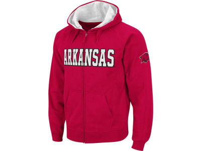 Arkansas Razorbacks NCAA Block Fullzip Hoodie