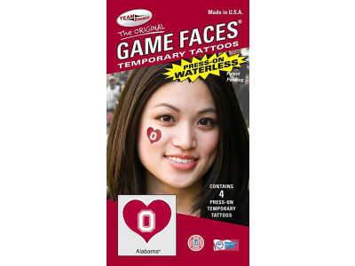 Ohio State Buckeyes Waterless Game Face Tattoo