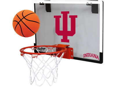 Indiana Hoosiers Game On Polycarb Hoop Set