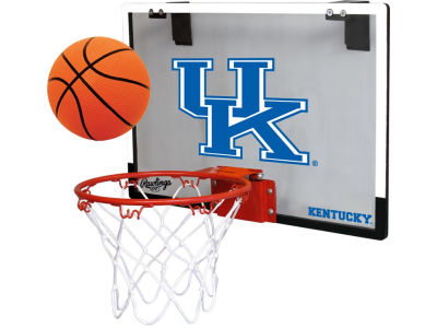 Kentucky Wildcats Game On Polycarb Hoop Set