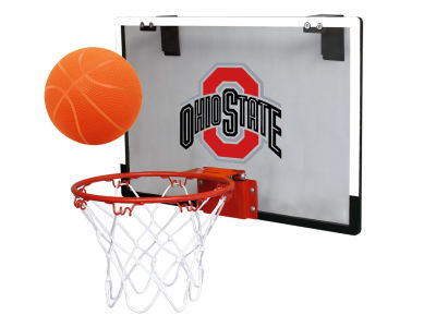 Ohio State Buckeyes Game On Polycarb Hoop Set