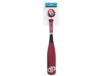 Oklahoma Sooners Grand Slam Softee Bat and Ball Set