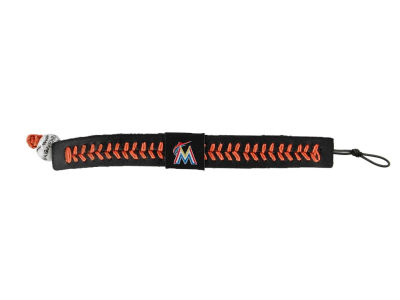 Miami Marlins Team Color Baseball Bracelet