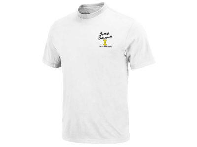Iowa Hawkeyes NCAA Loving Life Baseball T-Shirt