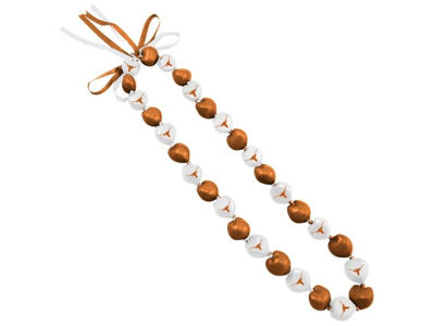 Texas Longhorns Kukui Nut Lei