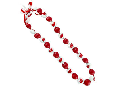 Wisconsin Badgers Kukui Nut Lei