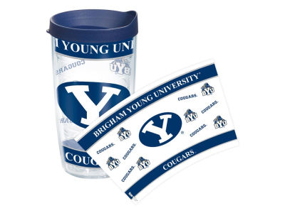 Brigham Young Cougars 16oz Wrap Tumbler With Lid