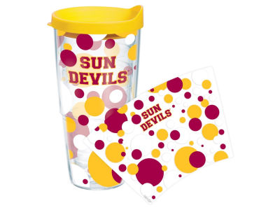 Arizona State Sun Devils 24oz. Polka Dot Tumbler With Lid