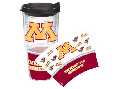 Minnesota Golden Gophers 24oz Tumbler With Lid