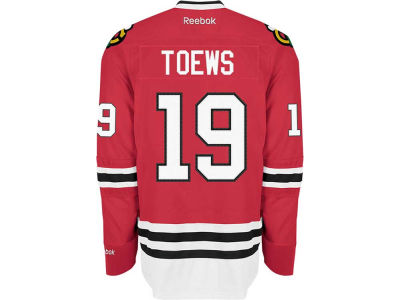 Chicago Blackhawks Jonathan Toews Reebok NHL Premier Player Jersey