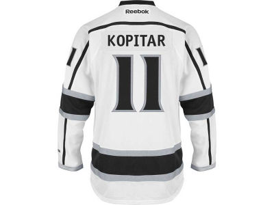Los Angeles Kings Anže Kopitar Reebok NHL Premier Player Jersey