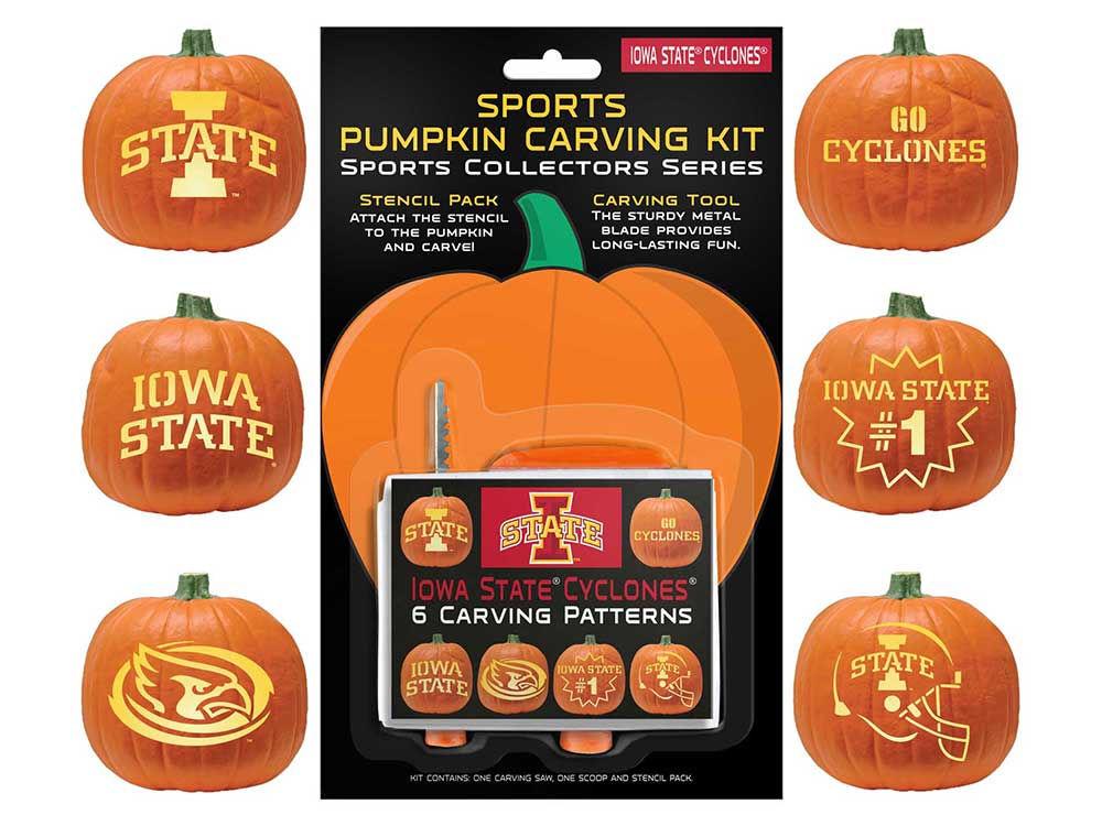 Iowa State Cyclones Pumpkin Carving Kit