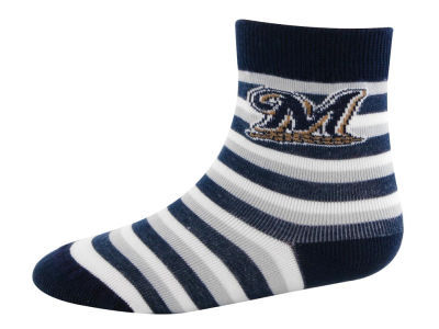 Milwaukee Brewers Sport Stripe Sock