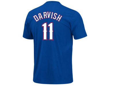 Texas Rangers Yu Darvish Majestic MLB Youth Player T-Shirt