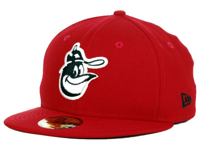Baltimore Orioles New Era MLB Red-BW 59FIFTY Cap