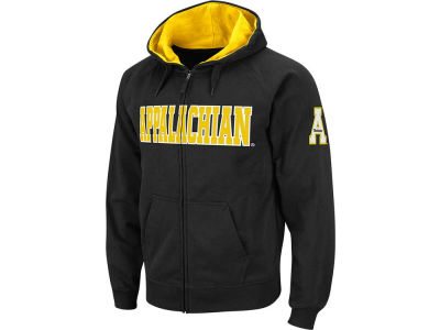 Appalachian State Mountaineers NCAA Youth Block Full Zip Hoodie