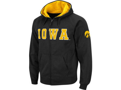 Iowa Hawkeyes NCAA Youth Block Full Zip Hoodie
