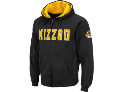 Missouri Tigers NCAA Youth Block Full Zip Hoodie