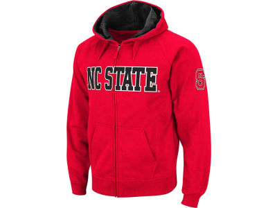 North Carolina State Wolfpack NCAA Youth Block Full Zip Hoodie