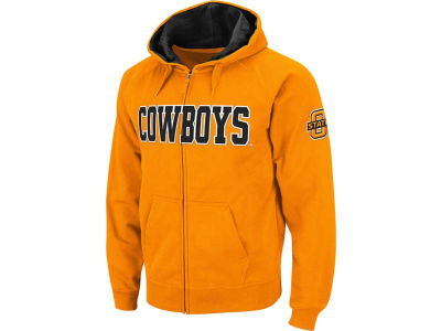 Oklahoma State Cowboys NCAA Youth Block Full Zip Hoodie