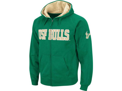 South Florida Bulls NCAA Youth Block Full Zip Hoodie