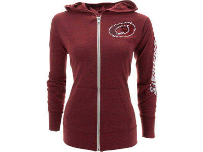 Carolina Hurricanes NHL Womens Sequin Hoodie
