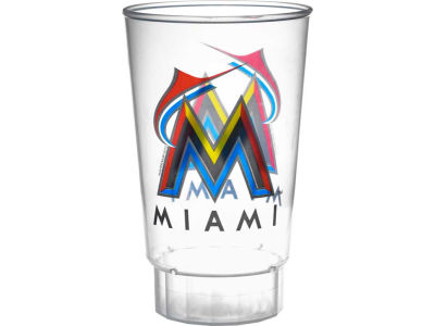 Miami Marlins Single Plastic Tumbler