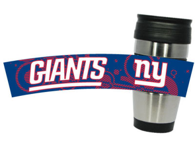 New York Giants Stainless Steel Travel Tumbler-CA
