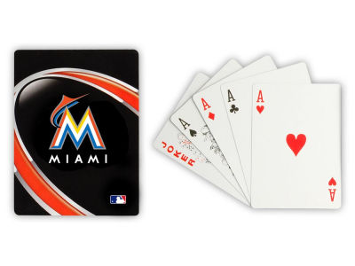 Miami Marlins Playing Cards