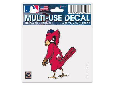 St. Louis Cardinals Static Cling Decal