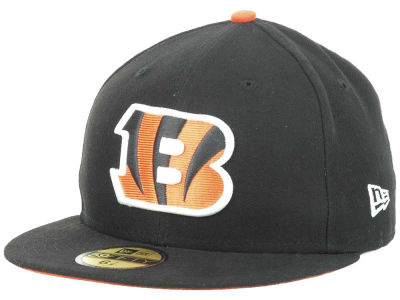 Cincinnati Bengals New Era NFL 2012 On Field 59FIFTY Cap