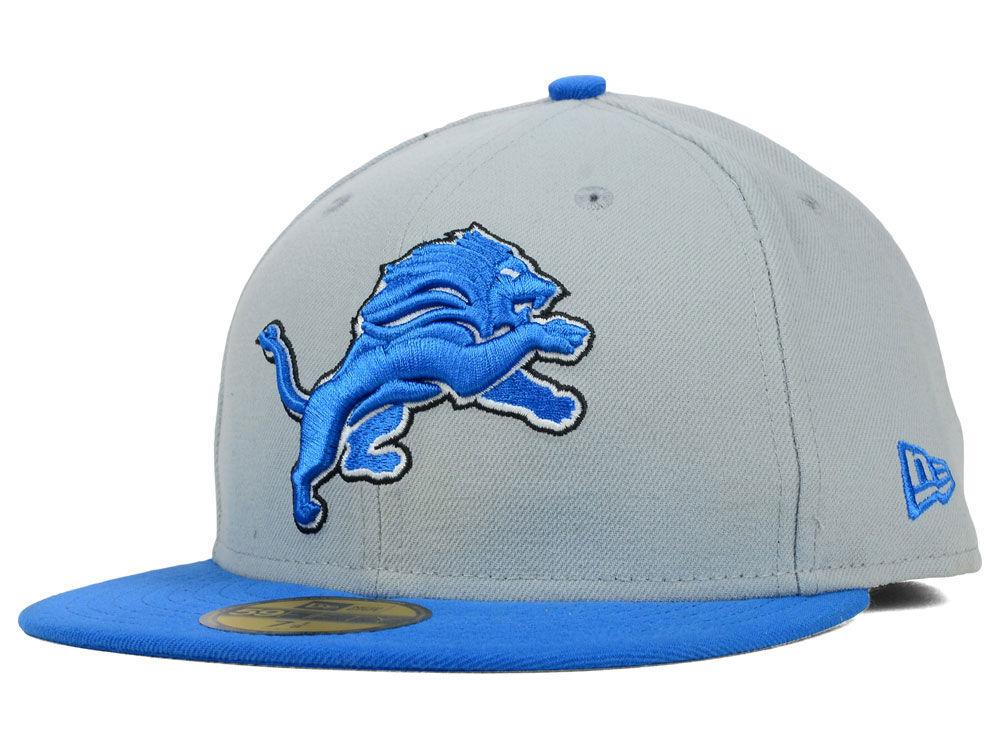 online store 1b32c 38ee2 Detroit Lions New Era NFL 2012 On Field 59FIFTY Cap   lids.com