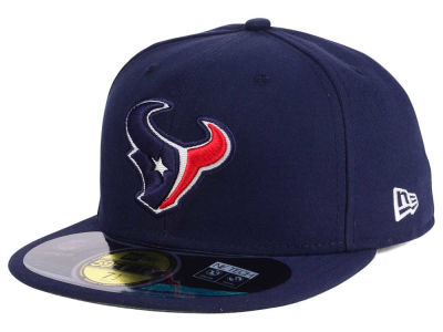 Houston Texans New Era NFL 2012 On Field 59FIFTY Cap