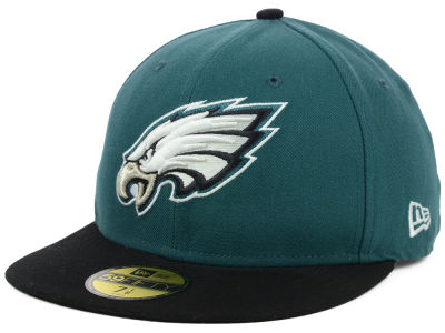 Philadelphia Eagles New Era NFL 2012 On Field 59FIFTY Cap