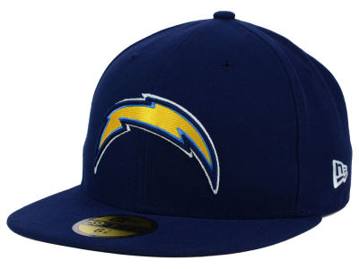 San Diego Chargers New Era NFL 2012 On Field 59FIFTY Cap