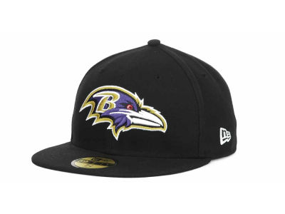 Baltimore Ravens New Era NFL 2012 Kids On Field 59FIFTY Cap