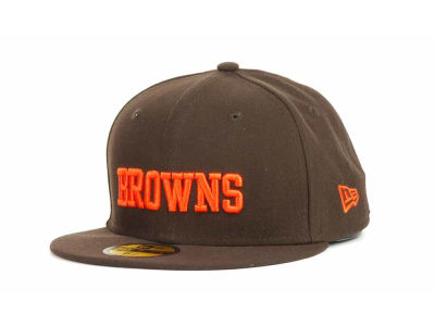 Cleveland Browns New Era NFL Youth Custom Basic 59FIFTY Cap