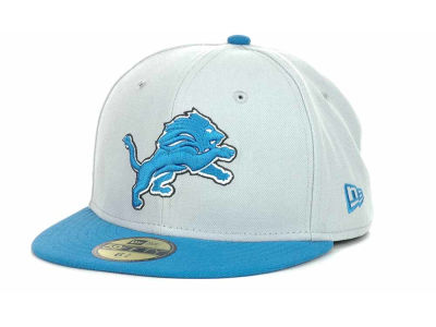 Detroit Lions New Era NFL 2012 Kids On Field 59FIFTY Cap