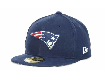 New England Patriots New Era NFL 2012 Kids On Field 59FIFTY Cap