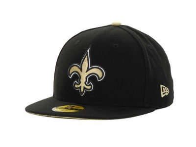 New Orleans Saints New Era NFL 2012 Kids On Field 59FIFTY Cap