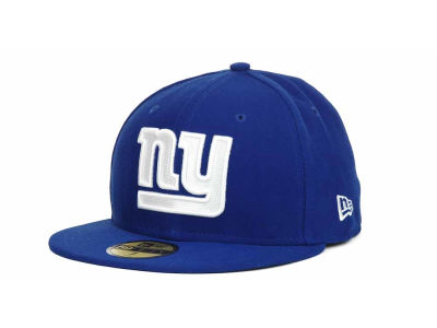 New York Giants New Era NFL 2012 Kids On Field 59FIFTY Cap