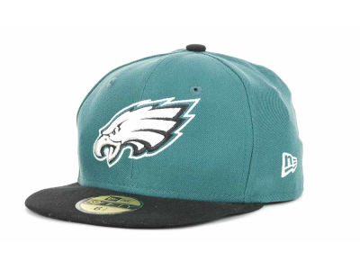 Philadelphia Eagles New Era NFL 2012 Kids On Field 59FIFTY Cap