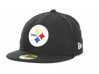 Pittsburgh Steelers New Era NFL 2012 Kids On Field 59FIFTY Cap
