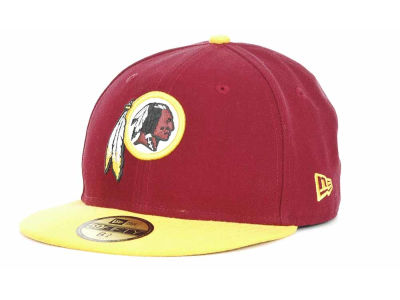 Washington Redskins New Era NFL 2012 Kids On Field 59FIFTY Cap