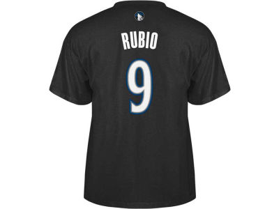 Minnesota Timberwolves Ricky Rubio adidas NBA Men's Player T-Shirt