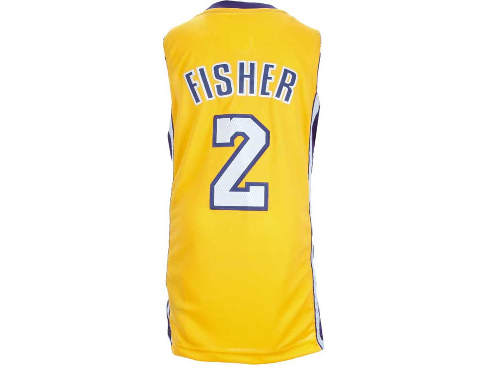 ... sweden los angeles lakers derek fisher nba youth revolution 30 swingman  jersey 17044 dc60d ... 933cac967