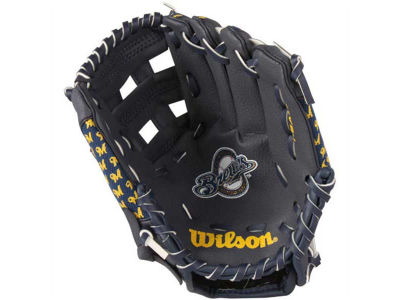 Milwaukee Brewers Tee Ball Glove