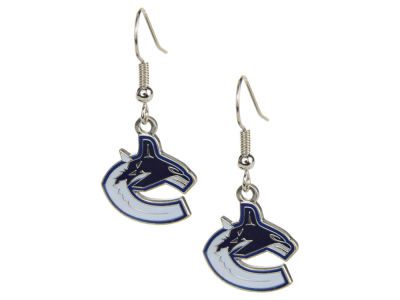 Vancouver Canucks Logo Earrings