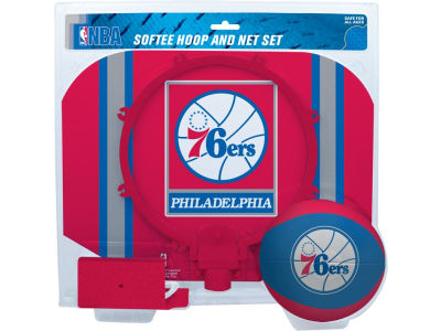 Philadelphia 76ers Slam Dunk Hoop Set